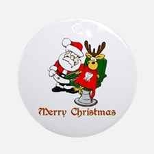 Dentist Christmas Ornament (Round)