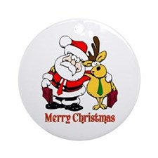 Lawyer Christmas Ornament (Round)