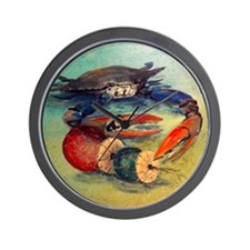 Beach Crab Wall Clock
