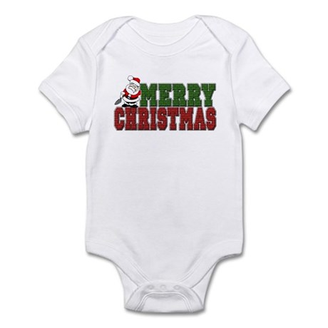 Bricklayer Christmas Infant Bodysuit