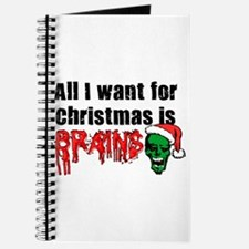 Zombie Christmas Journal