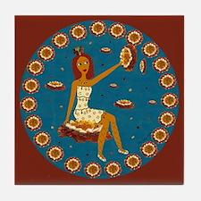 Amber Faerie Tile Coaster