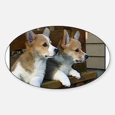 Unique Pups Sticker (Oval)