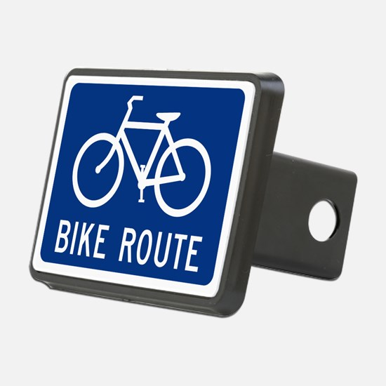Bike Route Hitch Cover
