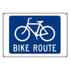Bike Route Banner
