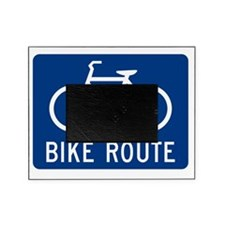 Bike Route Picture Frame