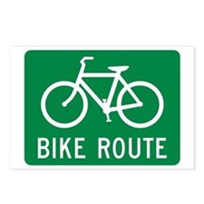 Bike Route Postcards (Package of 8)