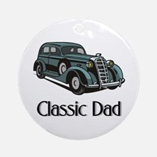 Classic Dad Ornament (Round)