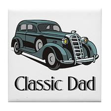 Classic Dad Tile Coaster