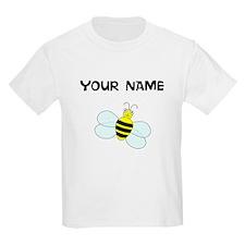Custom Bee Cartoon T-Shirt
