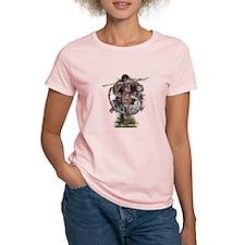 Eastern Goddess ~ Silver Dragon T-Shirt