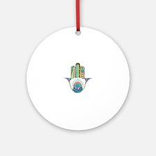 HAMSA Round Ornament