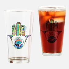 HAMSA Drinking Glass