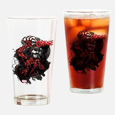 Grunge Carnage Drinking Glass