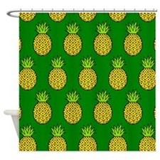 'Pineapples' Shower Curtain