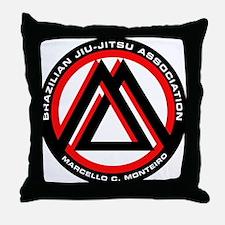 Brazilian Jiu Jitsu Associati Throw Pillow