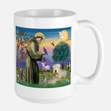 St. Francis and Wheaten Terrier Mug