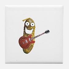 Rocker Pickle Tile Coaster