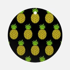 'Pineapples' Ornament (Round)
