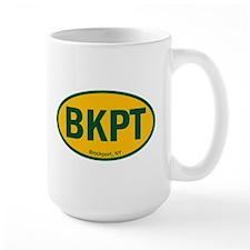 Euro Oval Sticker - SUNY BKPT Mugs