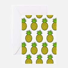 'Pineapples' Greeting Card