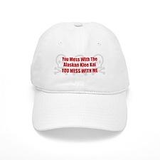 Mess With Klee Kai Baseball Cap