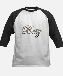 Gold Betty Baseball Jersey