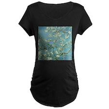 Van Gogh Almond blossom Maternity T-Shirt