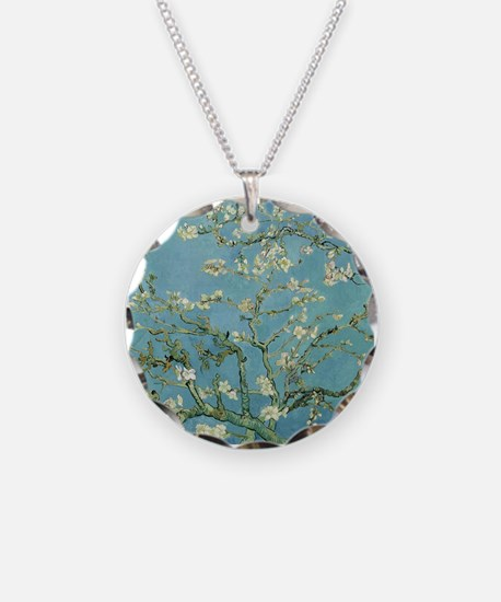 Van Gogh Almond blossom Necklace