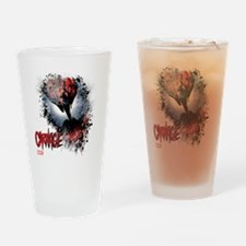 Carnage Face Drinking Glass