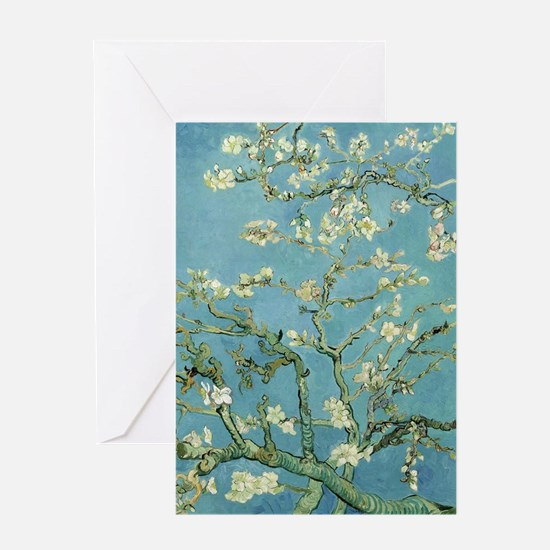 Van Gogh Almond blossom Greeting Cards