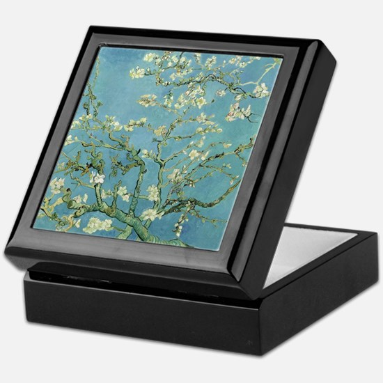 Van Gogh Almond blossom Keepsake Box