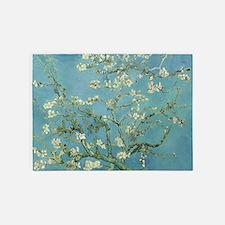 Van Gogh Almond blossom 5'x7'Area Rug