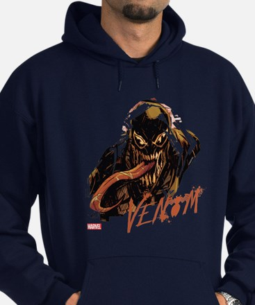 Abstract Venom Hoodie (dark)