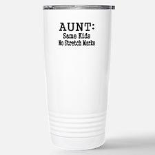 AUNT: Same Kids, No Stretch Marks Travel Mug