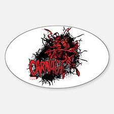 Carnage Sticker (Oval)