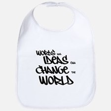Words and Ideas Change the World Bib