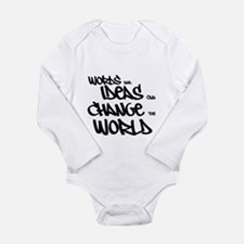 Words and Ideas Change the World Body Suit