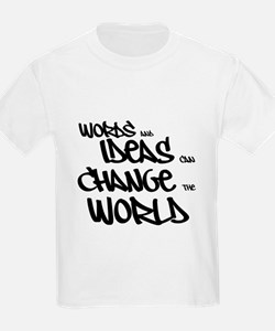 Words and Ideas Change the World T-Shirt