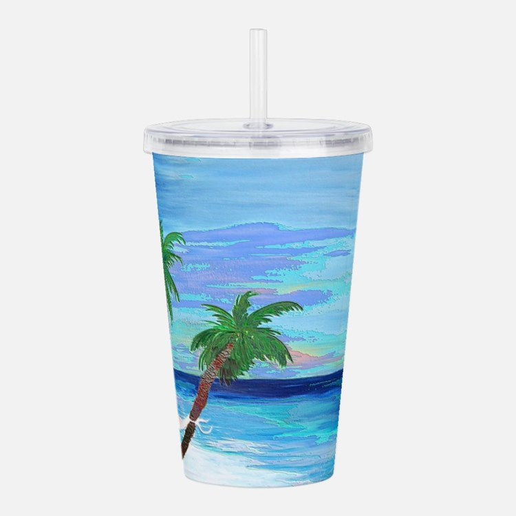 Hammock Beach Palms Acrylic Double-wall Tumbler