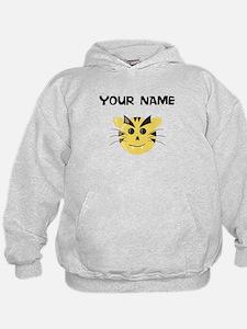 Custom Yellow Tiger Hoodie