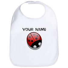 Custom Ladybug Bib