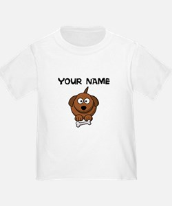Custom Cartoon Dog T-Shirt