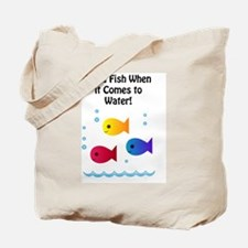 I am a Fish Tote Bag