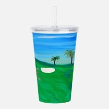 Golf Acrylic Double-wall Tumbler