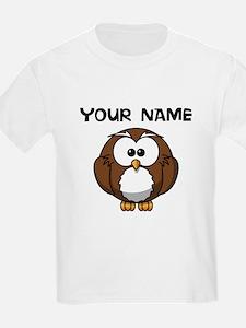 Custom Cartoon Owl T-Shirt
