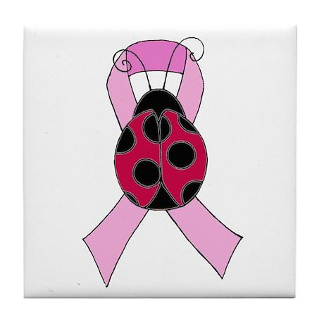 Team Ladybug Tile Coaster