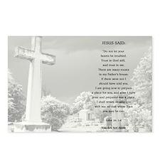 JOHN 14:1-4 Postcards (Package of 8)