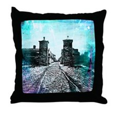 St. Augustine City Gates Throw Pillow