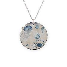 Indigo Ocean Sketchbook Jell Necklace